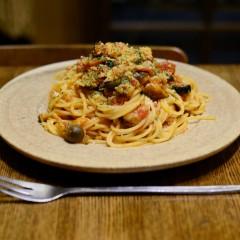 きのことツナのスパゲッティ