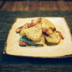 チーズ風味のジャーマンポテト
