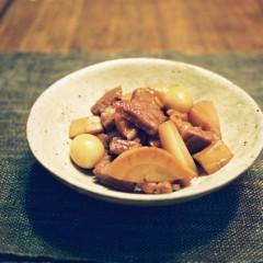 豚肉のミニ角煮