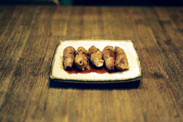 豚肉のしょうが巻き照り焼き