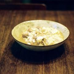 豆腐と豚バラのスープ煮