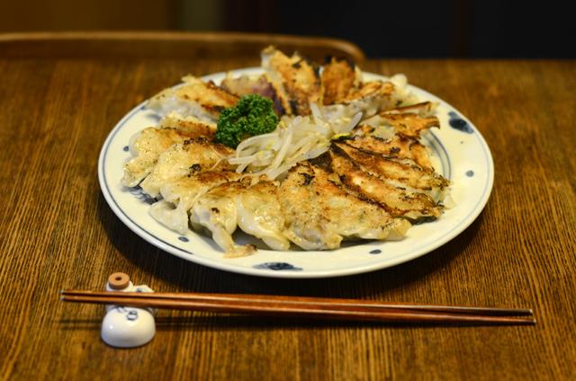 ゼナ入り焼き餃子(ぎょうざ)