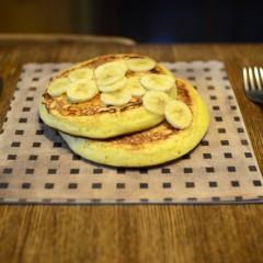 ココナッツミルク入りパンケーキ