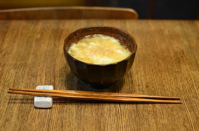 大和芋の味噌汁
