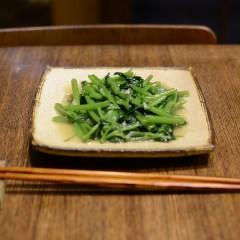 空芯菜(くうしんさい)炒め