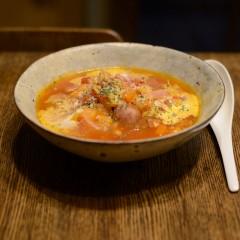 白菜のボルシチ風スープ