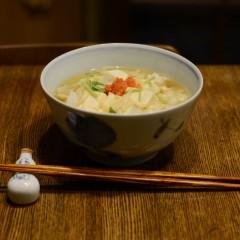 豆腐と生湯葉のあんかけ丼