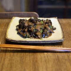 ナスの甘味噌常備菜